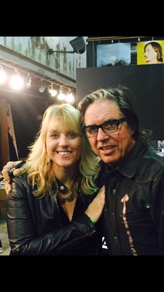 Me and John Doe from the band X